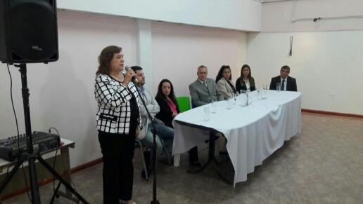 Gral acha inauguraron oficina de emisi n de licencia de for Oficina nacional de deportes